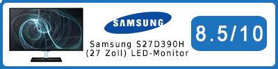 Samsung S27D390H (27 Zoll) LED-Monitor: Testbericht 2015