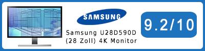 Samsung U28D590D (28 Zoll) 4K UHD-Monitor: Testbericht 2015