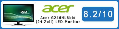 Acer G246HLBbid (24 Zoll) LED-Monitor: Testbericht 2016