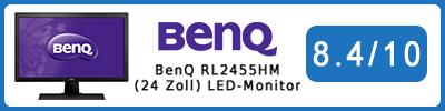 BenQ RL2455HM (24 Zoll) LED-Monitor: Testbericht 2016