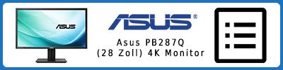 Asus PB287Q (28 Zoll) 4K UHD-Monitor: Infobericht 2015