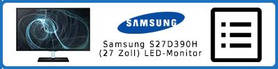 Samsung S27D390H (27 Zoll) LED-Monitor: Infobericht 2015