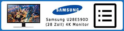 Samsung U28E590D (28 Zoll) 4K UHD-Monitor: Infobericht 2016