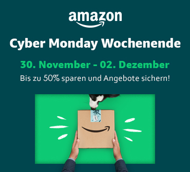 Amazon Cyber-Monday-Woche 2019